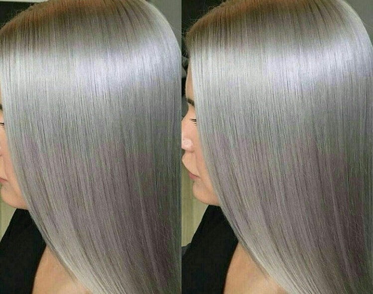 رنگ مو روشن بدون استفاده از دکلره